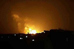 Huge explosions hit Saudi coalition base in Ma'rib (+VIDEO)