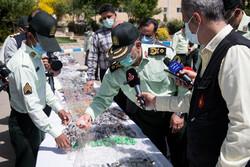 دستگیری ۳۵ قاچاقچی دانه درشت/ کشف بزرگترین محموله شیشه در پایتخت