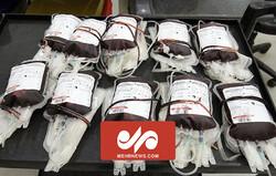 حضور عراقی ها برای اهداء خون به مجروحان