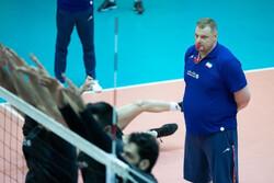 الکنو سرمربی تیم ملی والیبال ایران