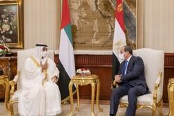 رایزنی ولیعهد ابوظبی با رئیس جمهوری مصر درباره سدالنهضه