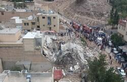 مصدومان انفجار منزل مسکونی در جهرم به۴نفر رسید/  ۲ نفر جان باختند