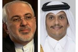 FM Zarif meets with Qatari counterpart in Doha