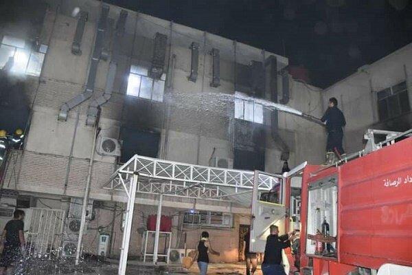 Bağdat'ta hastanede patlama: 40 kişi yaşamını yitirdi
