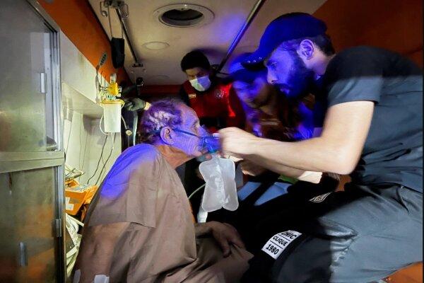 Baghdad hospital fire kills dozens of Covid patients+ video
