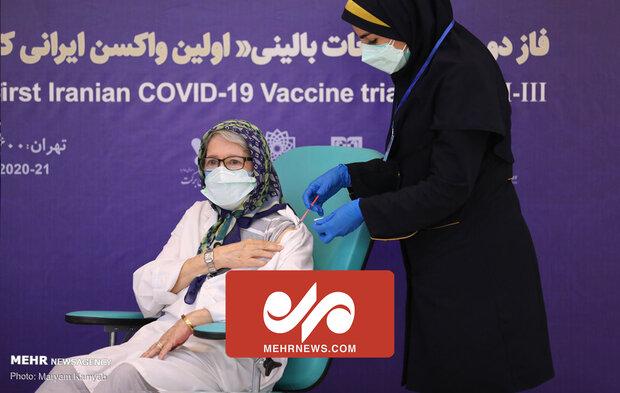 VIDEO: Coronavirus Task Force member 1st to recieve COVIran