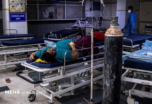 Hindistan'da günlük can kaybı sayısı en yüksek seviyeyi gördü