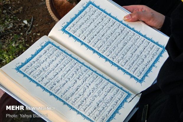 عطر قرآن در کوچه و محلات کرمانشاه