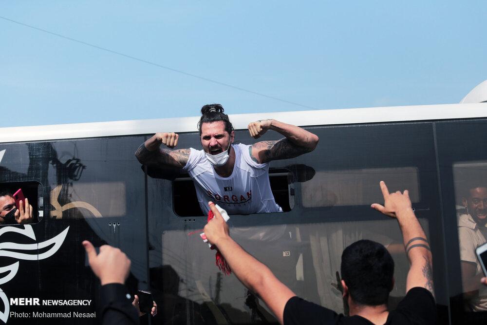 استقبال مردمی از تیم بسکتبال شهرداری گرگان