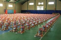 ۵۰۰۰ هزار بسته معیشتی در شهرستان رشت توزیع شد