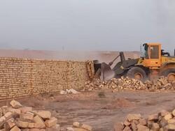 رفع تصرف از ۱۲ قطعه زمین کشاورزی در پاکدشت