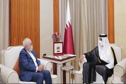 امیر قطر کی ایران کے ساتھ گہرے اور دوستانہ تعلقات کی اہمیت پر تاکید
