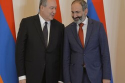 Armenian Pres. accepts resignation of PM Pashinyan
