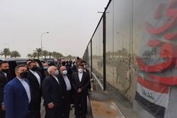 الشهيد سليماني والحاج المهندس رمزا المقاومة لشعبي إيران والعراق