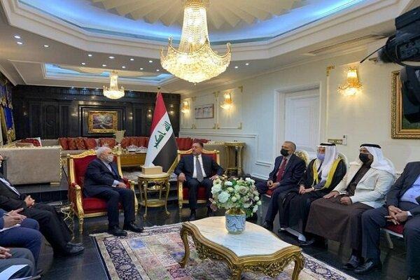 FM Zarif meets with prominent Iraqi Sunnis, tribal chiefs