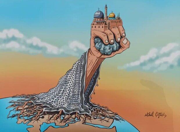 معرض فلسطين ليست وحدها