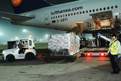 وصول اول شحنة طبية إلى الهند لمكافحة كورونا