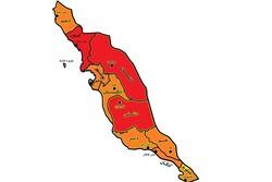 وضعیت کرونایی در ۷۰ درصد شهرستانهای استان بوشهر نارنجی شد