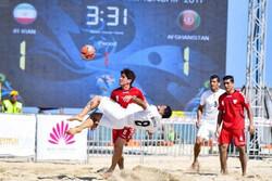 اختلاف ایران با AFC برای جام جهانی فوتبال ساحلی مشخص شد