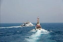 رو در رو شدن کشتی های جنگی ایران و آمریکا در خلیج فارس