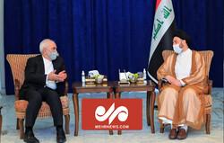 VIDEO: Zarif meets Hakim in Iraq