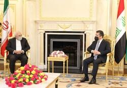 تأکید بر عدم اجازه به اقدامات ضد ایرانی در کردستان عراق