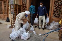 شیراز میں مہربانی اور معیشتی  تعاون پر مبنی دسترخوان
