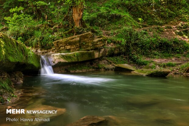 هفت آبشار تیرکن