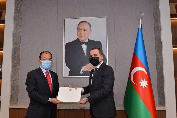 Türkiye'nin yeni Bakü Büyükelçisi güven mektubunu Bayramov'a sundu