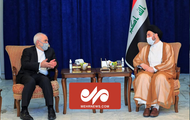 VIDEO: Zarif meets Hakim in Iraq