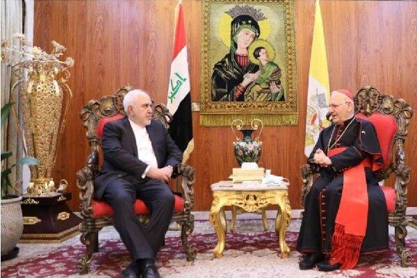 Zarif meets with patriarchofChaldean Catholic Church