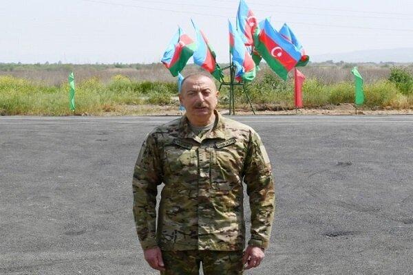 "Aliyev calls borders with Iran ""Border Of Friendship"""