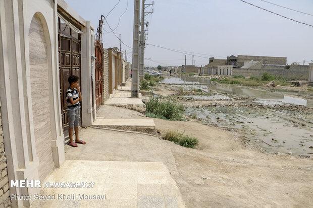وضعیت شبکه فاضلاب در سوسنگرد بحرانی است