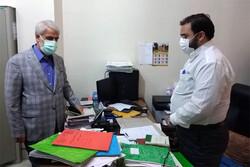 بازدید رئیس کل دادگستری استان تهران از حوزه قضایی قرچک