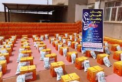 توزیع ۱۵۰۰ بسته معیشتی میان مددجویان و نیازمندان در آبادان