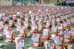 ۱۵ هزار بسته معیشتی بین افراد آسیبدیده از کرونا در دشتی توزیع شد