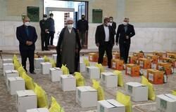اهدای ۲۰۰ بسته معیشتی به خانوادههای زندانیان