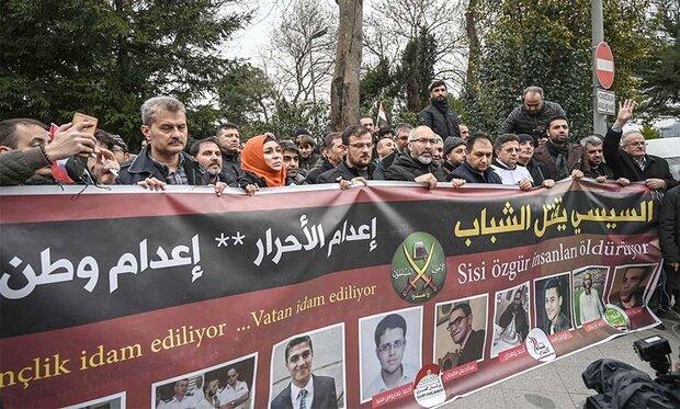 """تنفيذ حكم إعدامات قاسية بحق جماعة """" الاخوان المسلمين"""" في مصر"""