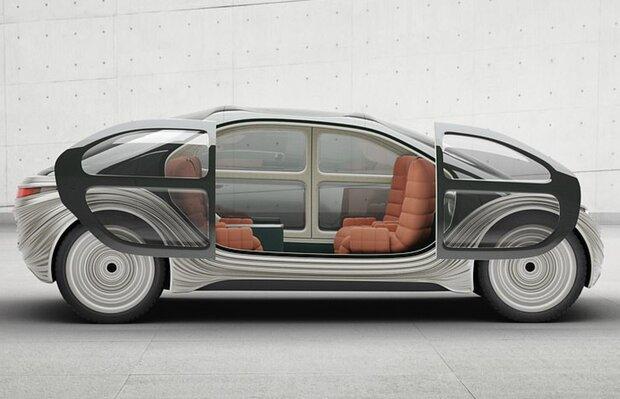 طرح اولیه خودرویی که مواد آلاینده هوا را پاک می کند