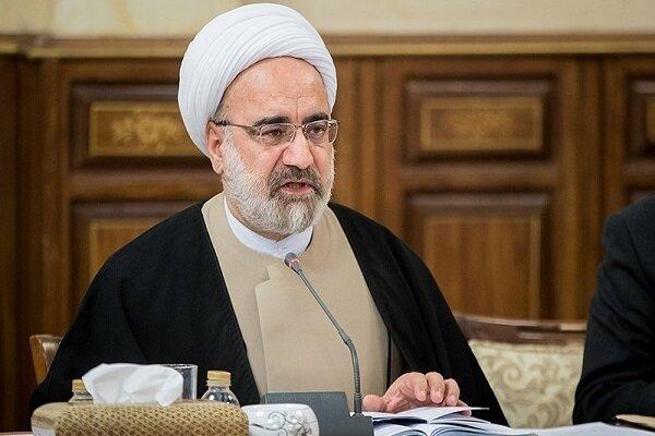 رئیس دیوان عدالت پیروزی آیت الله رئیسی در انتخابات را تبریک گفت