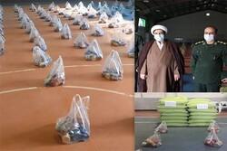 ۲۵۰ بسته معیشتی میان نیازمندان هرسینی توزیع شد