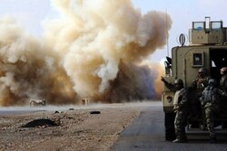 US military logistic convoy targeted in Iraq's Al-Anbar