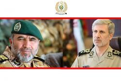 وزیر دفاع دریافت نشان درجه یک فتح را به فرمانده «نزاجا» تبریک گفت
