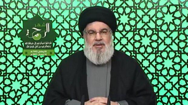 Nasrullah, Siyonistlere karşı cesurca direnen Kudüs halkını takdir etti