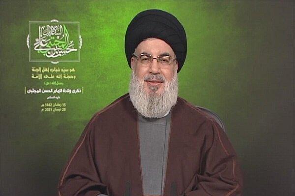 السيد نصر الله يشيد بالهمة العالية لأهل القدس وبتضامن الضفة وقطاع غزة معهم