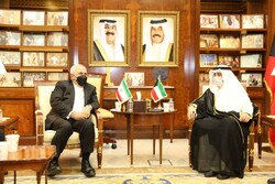 دیدار و گفتگوی وزرای امورخارجه جمهوری اسلامی ایران و کویت