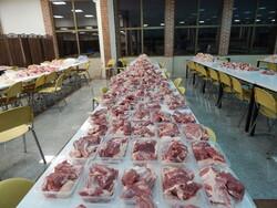توزیع بیش از  ۷۰۰ کیلوگرم گوشت قربانی بین نیازمندان ساوجبلاغ