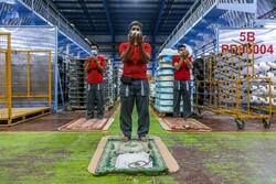 جهاد کارگران روزهدار در سنگر تولید