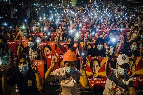 Myanmar'da darbe karşıtı gösterilerde can kaybı 805 oldu