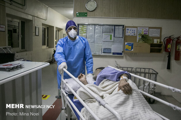 Medical staff amid 4th wave of Covid-19 pandemic